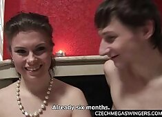 Amateur Threesome at Swingers Party