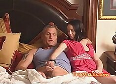 Daddy LOVES his TEEN Daughters Pussy!