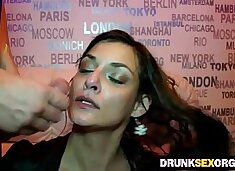 Horny d. cock suckers at the party