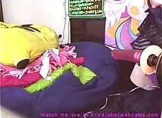 Slutty emo girl fucked by fuckmachine and stimulating her clit with a vibrator privatehotwebcams.com