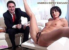 Milf shows her bizarre vagina for Andrea Diprè (short version)