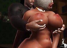 Backing up that Big Black Ass after church