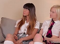 X-Rated After School Studies - Extremely Hot Teen Threesome