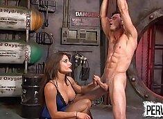 ChiChi Fucks and Milks Her Slave