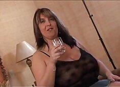 Big tits milf fucking two black cocks in Hot BBW Video