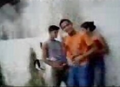Fsiblog - Desi college students outdoor fun MMS - Indian Porn Videos