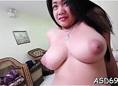 Fondling and fucking oriental fur pie