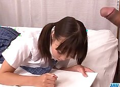 Momoka Rin is a hot beauty that craves for harsh sex