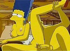 simpsons sex video